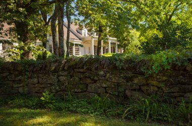 Oak Hill stacked stone wall, Nashville, TN